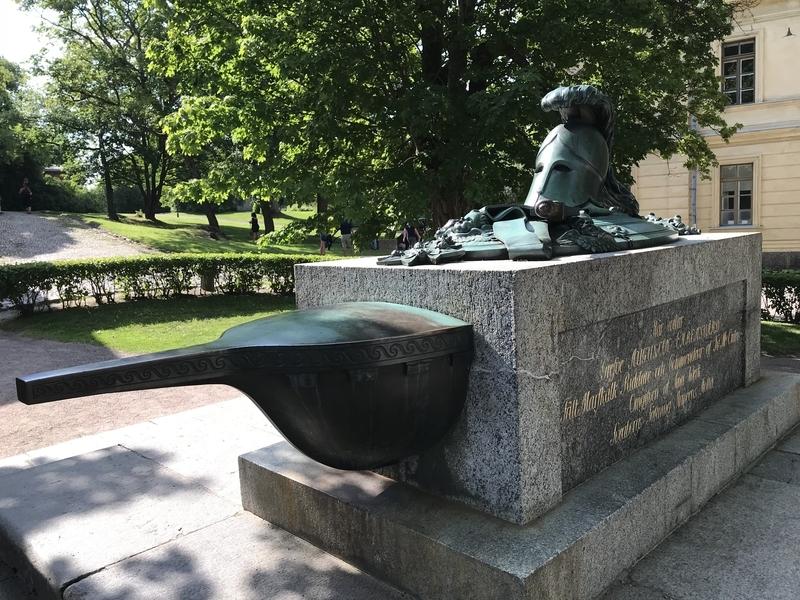 スオメンリンナの将軍慰霊碑