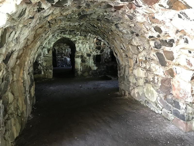 スオメンリンナの要塞内部
