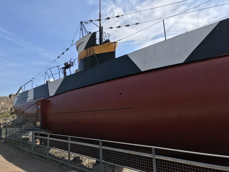 スオメンリンナの潜水艦
