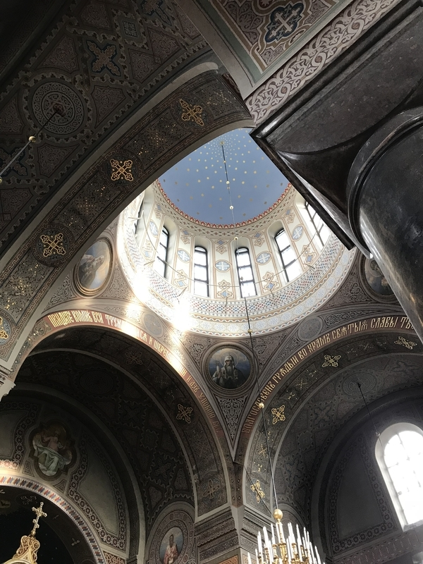 ウスペンスキー寺院内部