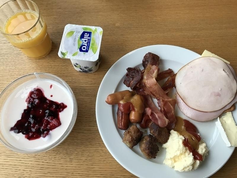 ブレイクソコスホテルコリの朝食