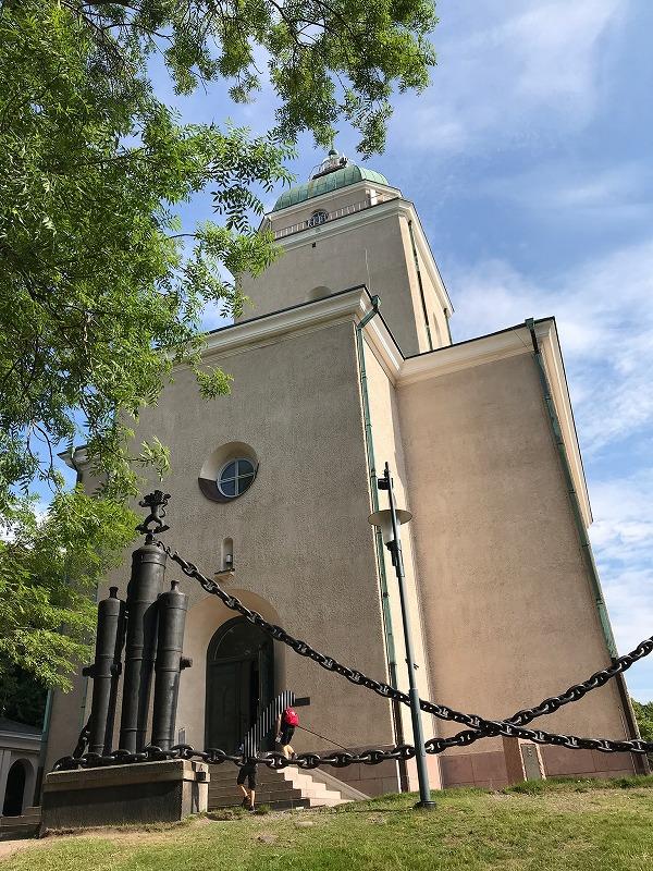 スオメンリンナの教会