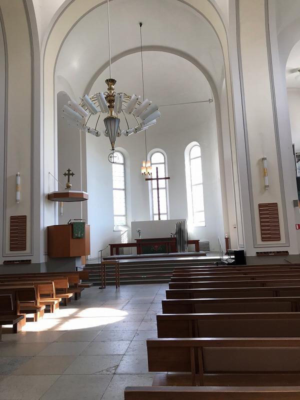 スオメンリンナの教会内部