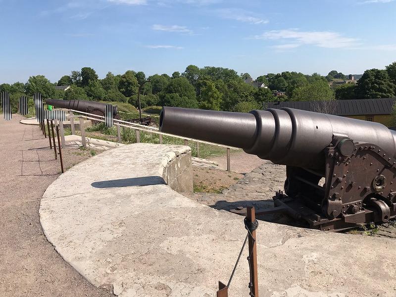 スオメンリンナの砲台