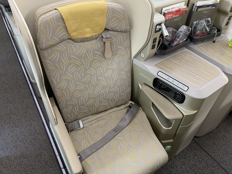 OZ113 A350座席