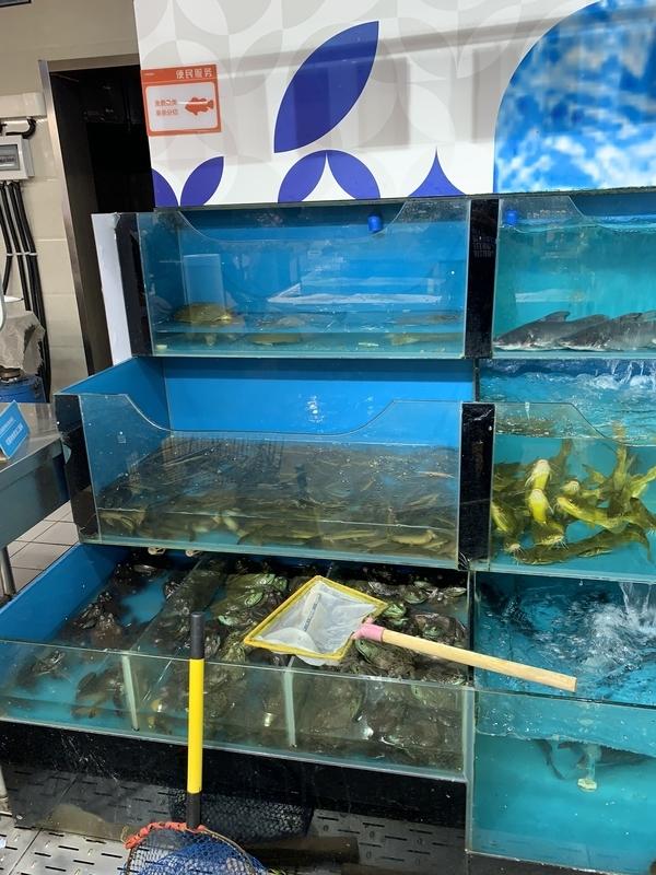 スーパーの鮮魚コーナー2