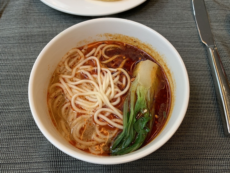 JWマリオット重慶朝食の小麺