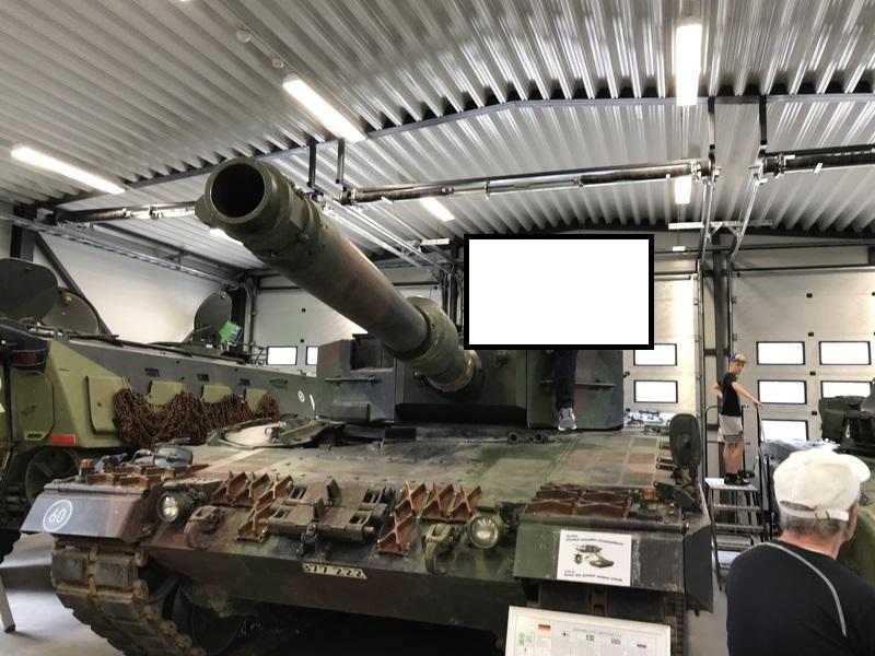 戦車記念写真