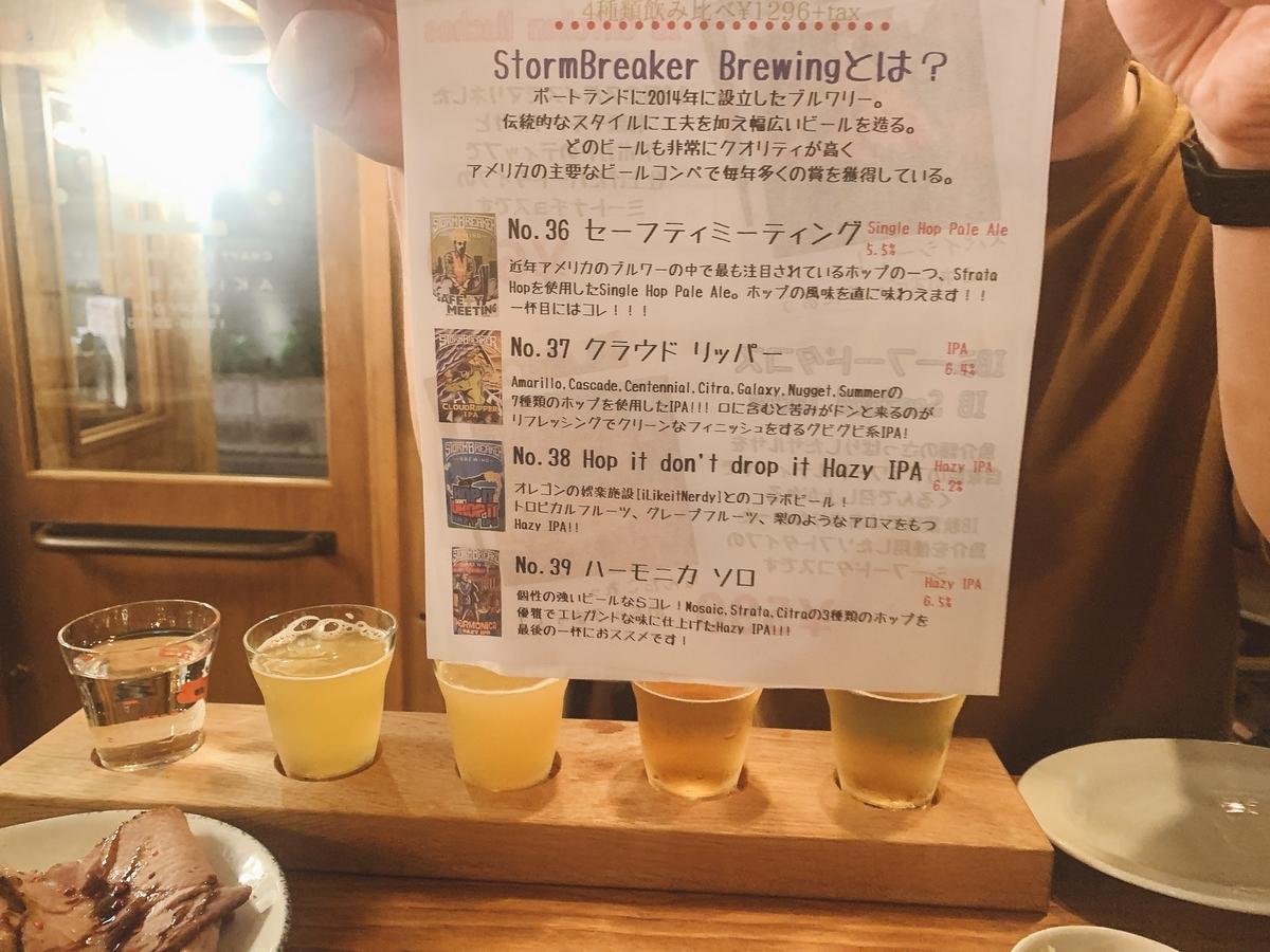 StomBreaker Brewing at iBrew Akihabara