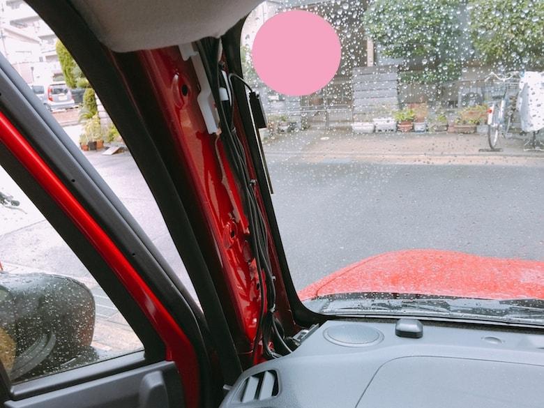 ドライブレコーダー取り付けイメージ05