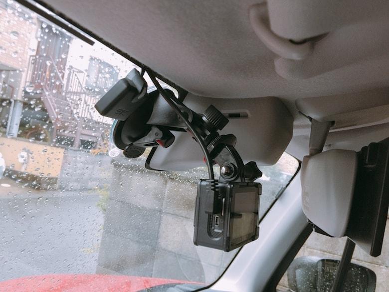 ドライブレコーダー取り付けイメージ08