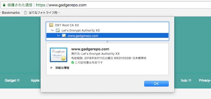 独自ドメインのはてなブログ HTTPS配信のイメージ06