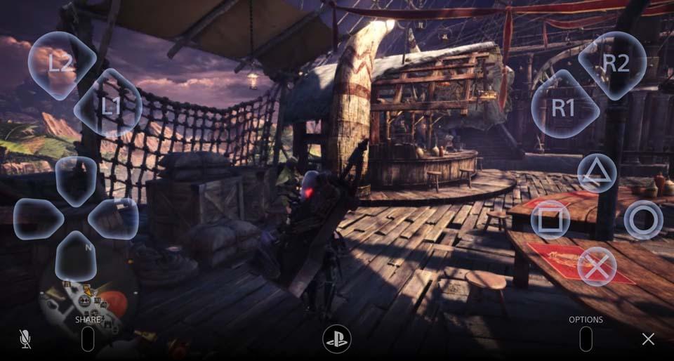 PS4リモートプレイのイメージ05