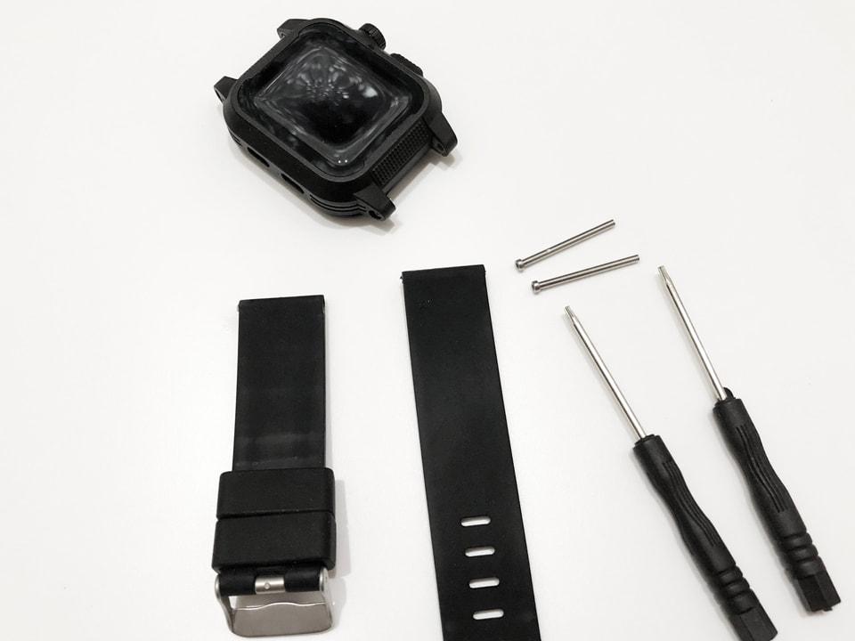 Apple Watch 専用防水ケースベルト交換イメージ04