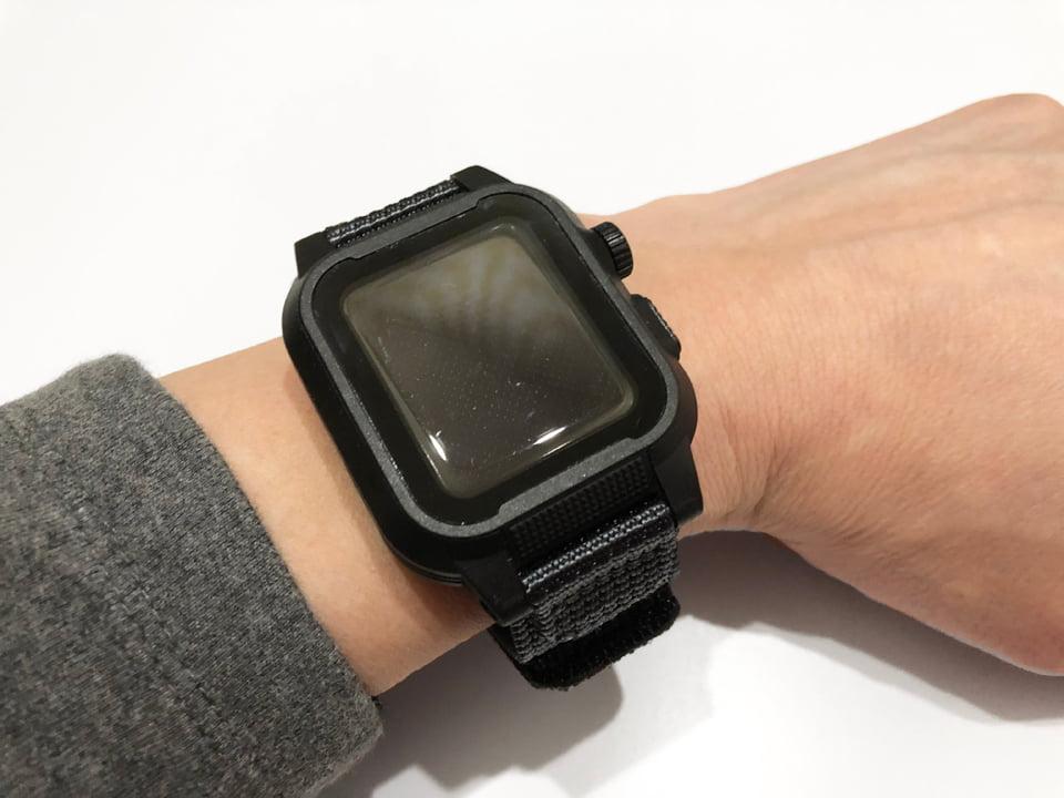 Apple Watch 専用防水ケースベルト交換イメージ07