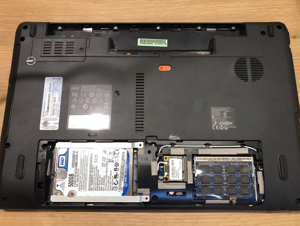SSD換装のイメージ13
