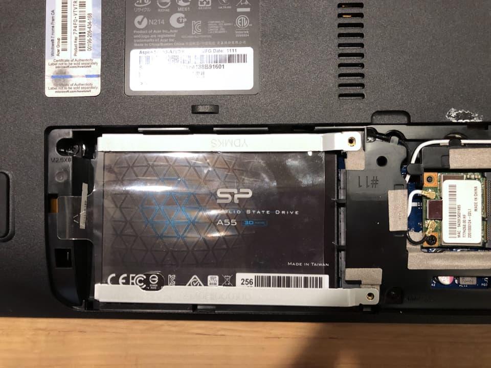 SSD換装のイメージ14