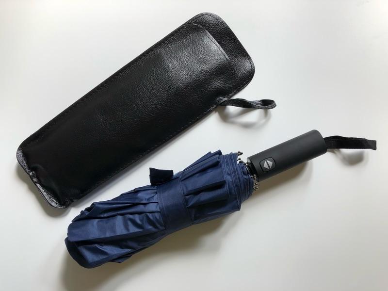 メンズ晴雨兼用自動開閉折りたたみ傘のイメージ03