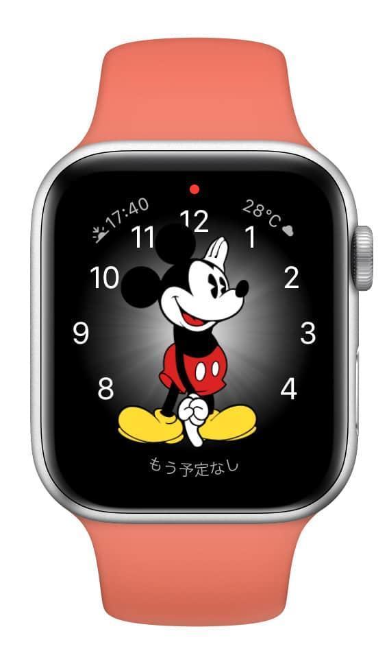 ミッキーマウス文字盤のイメージ02