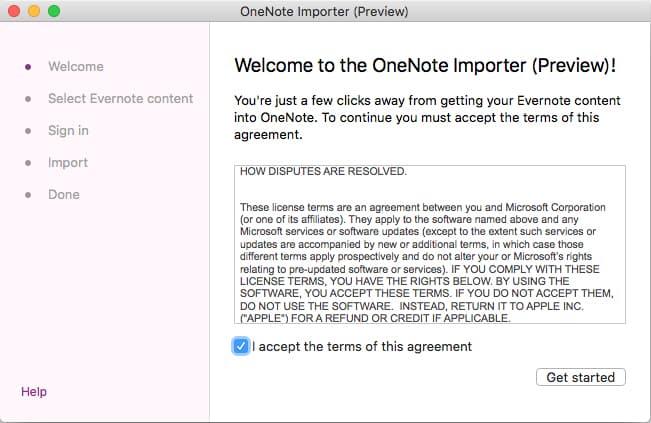 OneNote Importerのイメージ02