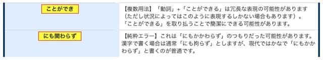 文章校正ツールのイメージ06