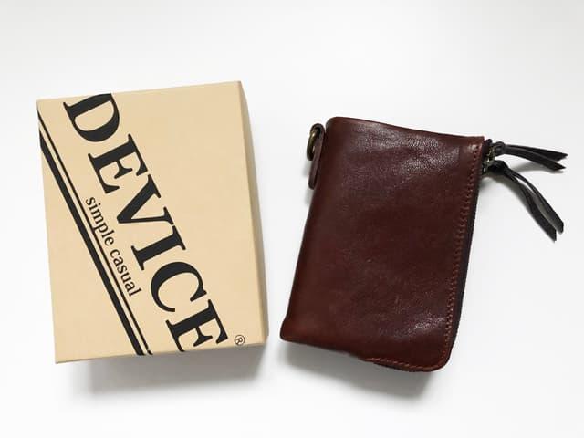 DEVICE ヴィンテージ ダブルジップ二つ折り財布のイメージ画像02