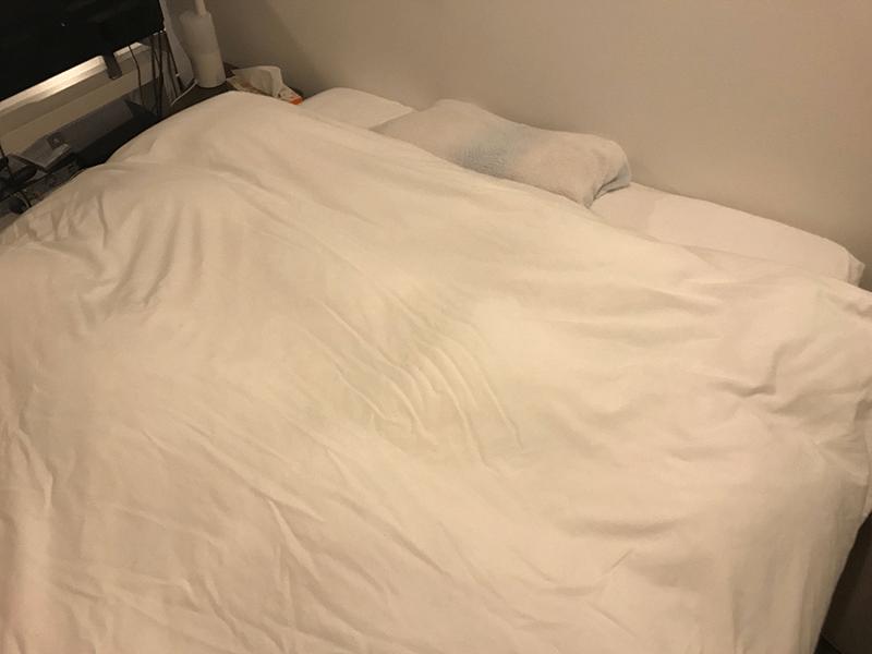 ダブルベッド