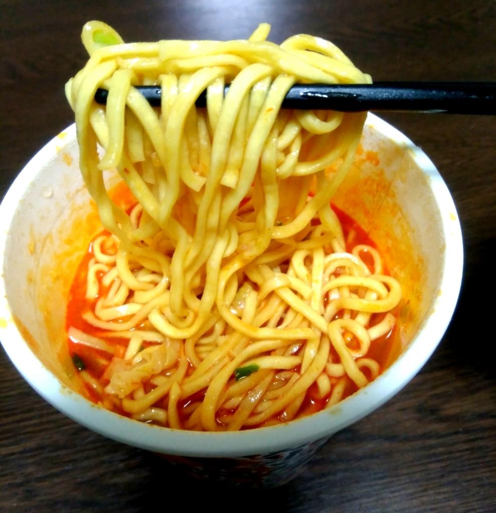 蒙古タンメン中本 カップ麺