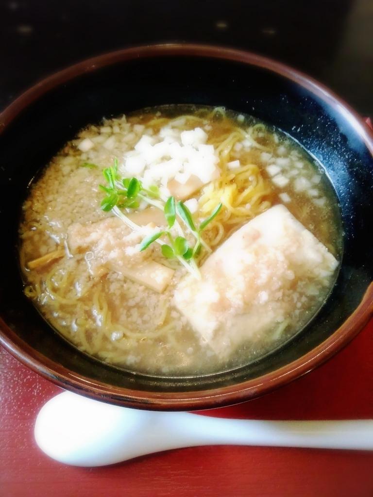 ラーメンハウスにぼ兄弟さんの燕三条系濃厚煮干ラーメン(細麺) 790円