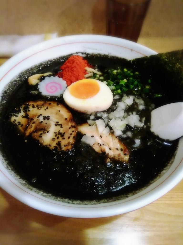 らー麺Chopさんの限定 黒タンタン