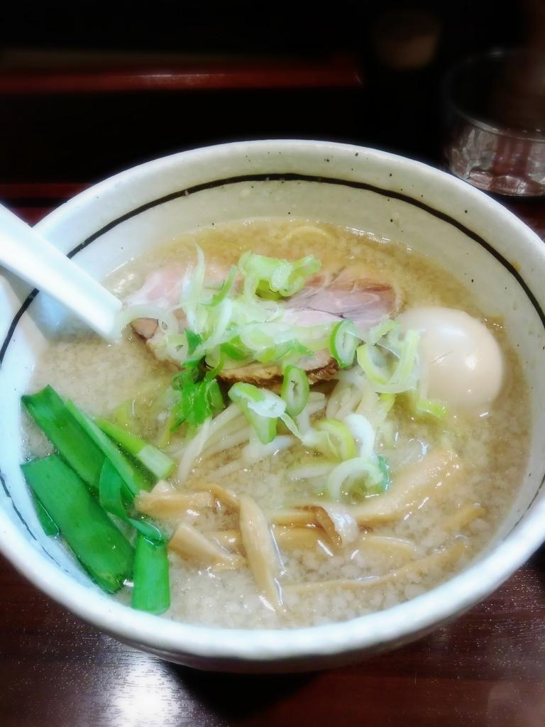 麺屋 旬(埼玉県川越市)さんのこってりしょうゆ味玉らーめん 700円