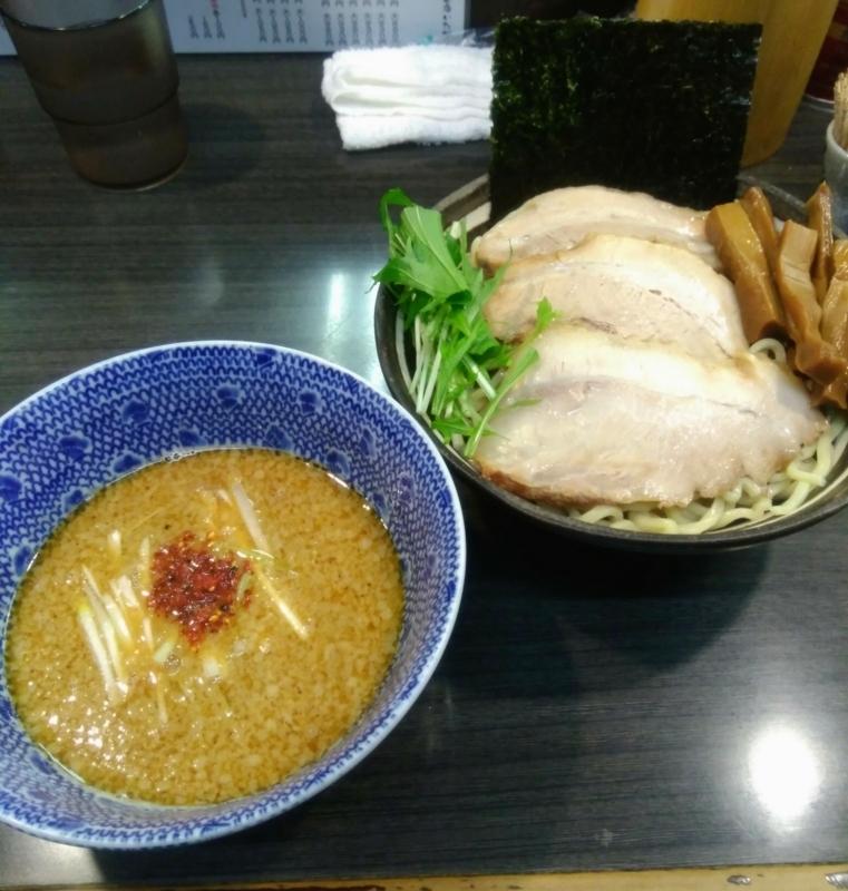 ラーメンつけ麺奔放さんの味噌つけ麺 小 850円