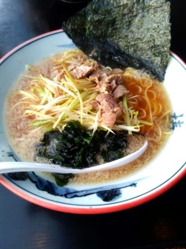 ラーメンショップ 122号騎西店さんのネギラーメン(並) 730円 麺硬め
