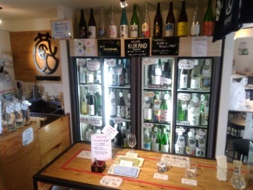 クランドサケマーケットさんの日本酒冷蔵庫