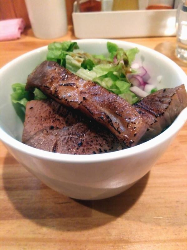 らーめんコッコさんのミニ炙りチャーシュー丼 200円