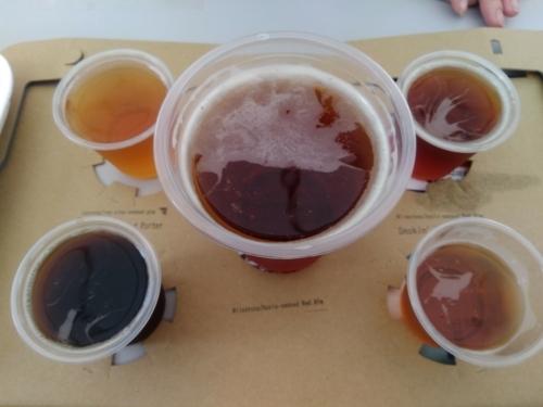 所沢ビールさんの飲み比べ