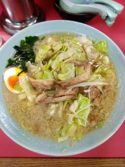 ラーメンショップ埼大店さんのキャベツラーメン700円 麺硬め
