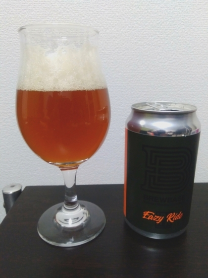 BREW BASEのイージーライドIPA(EASY RIDE IPA)