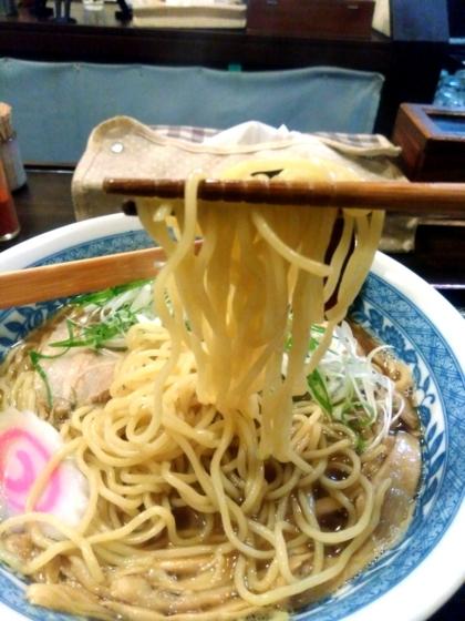 ぶっきら坊さんの中華そばの麺