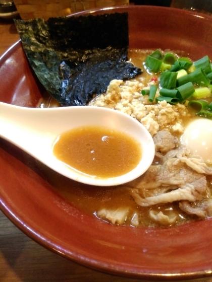 極-Kiwami-みそSOBAのスープ