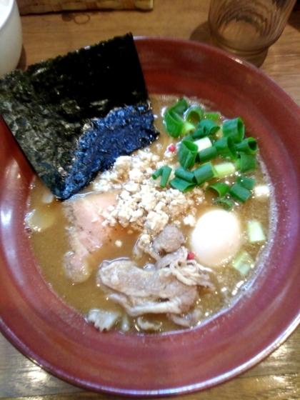 麺屋Shumen Doushi(しゅめんどうし)さんの極-Kiwami-みそSOBA 890円