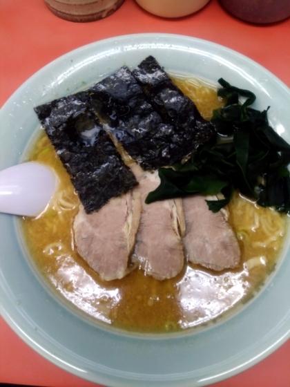 ラーメンショップ飯島さんの青とうラーメン 600円