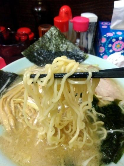 ラーメンショップ金田亭さんの麺