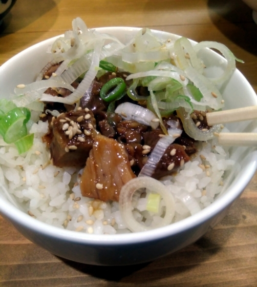 ゴールデンタイガーさんの肉飯(小)250円