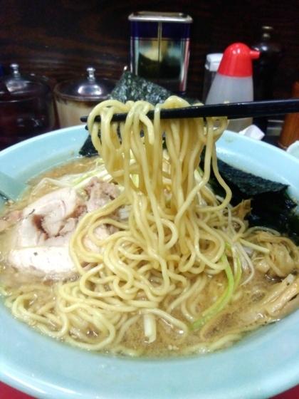 金田亭さんの麺