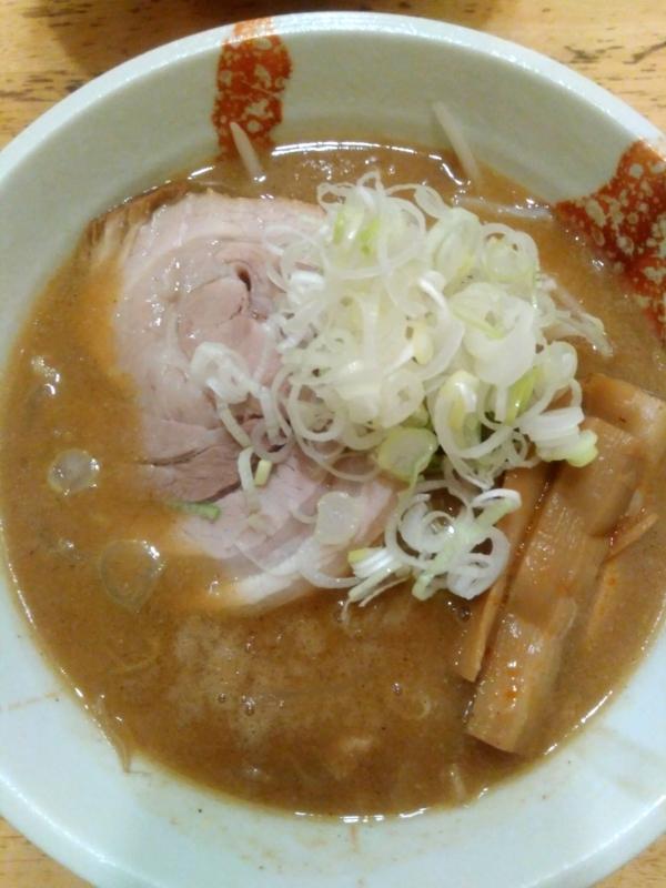 麺処 慶さんの味噌ラーメン 800円