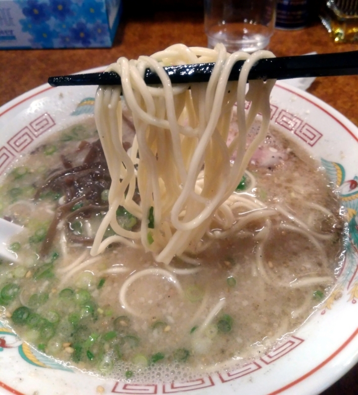 久留米ラーメンの麺