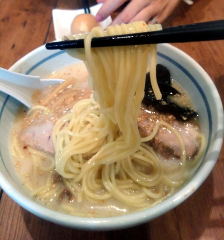 らーめん ふくのや@与野 さんの麺