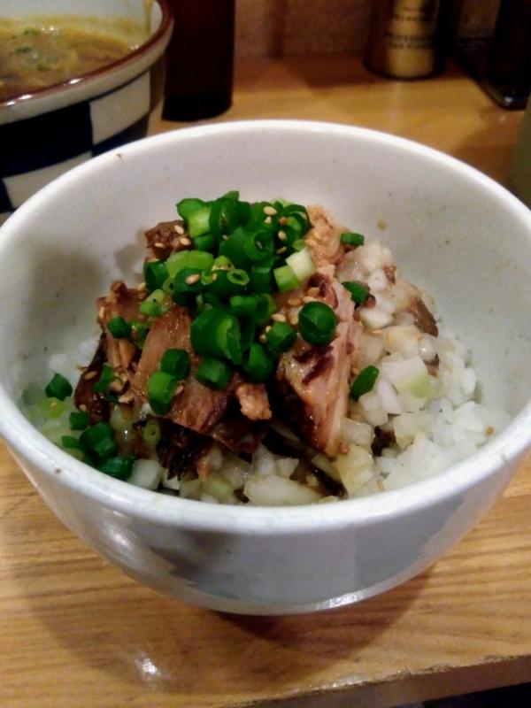 らー麺Chopさんのまかない飯 300円