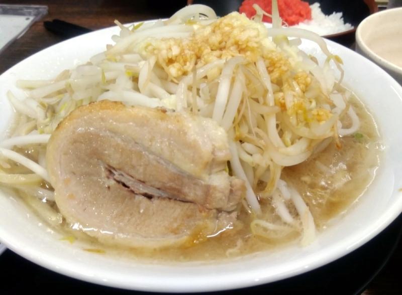 楓G郎200g 750円 野菜少なめ生ニンニク油ちょいマシ